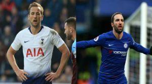 Chelsea-Tottenham: Gonzalo Higuaín vs. Harry Kane