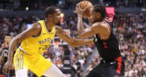 Toronto Raptors - Golden State Worces ... 2!