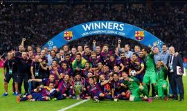 Group winners in the Champions League
