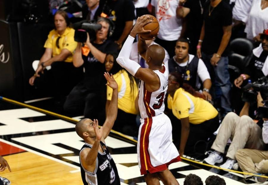The three-pointer of Ray Allen that will be remembered even after many years