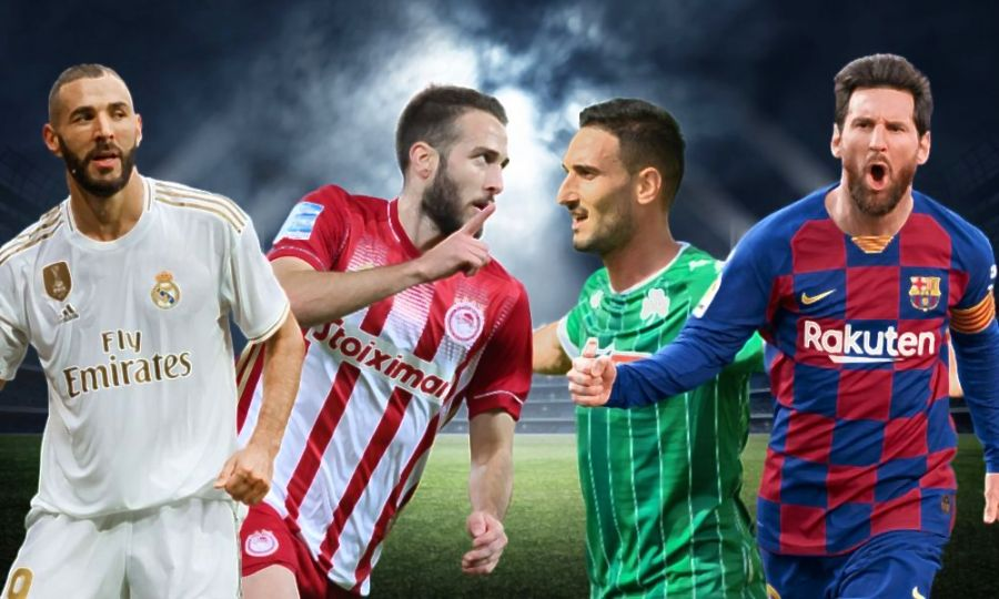 Eternal derby and El Clasico with super offers * in Stoiximan!
