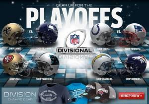 NFL-Divizia Playoff-Sâmbătă meci