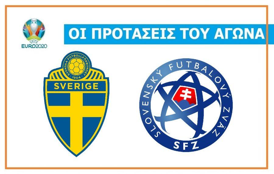 Sweden-Slovakia: Remarkable favorite