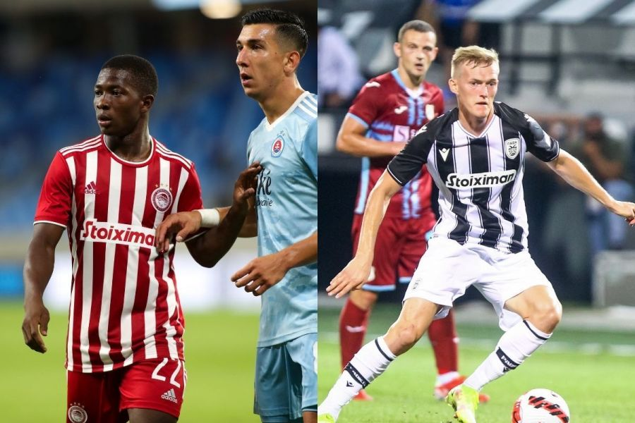 The favorites in the groups of Olympiacos & PAOK in Europe!