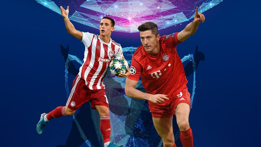 Olympiacos-Bayern with MatchCombo & amp; Fantasy on Stoiximan.gr!