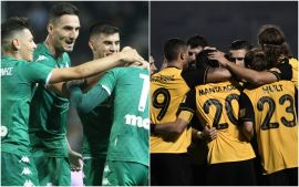 Panathinaikos - AEK & amp; European Derby with innumerable bets on Stoiximan.gr!