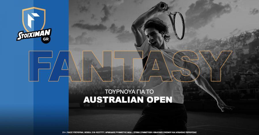 Turneu de fantezie pentru Australian Open la Stoiximan.com & amp; Prognoza zilei