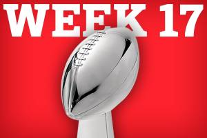 NFL Week 17 - Scripts for play-offs.