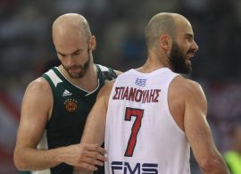 Panathinaikos-Olympiacos for 5 once in a semifinal cup